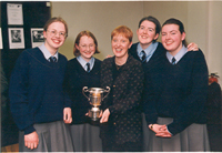 emma, niamh, jennifer, deirdre and me